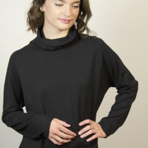 womens-black-sweater