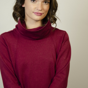 womens-red-pocket-sweater