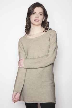 womens-grey-tunic-dress
