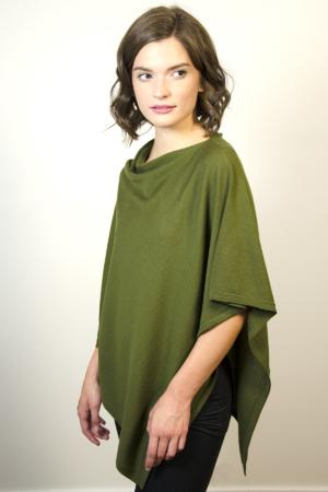 green-poncho