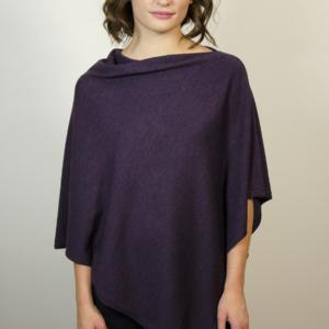 purple-poncho