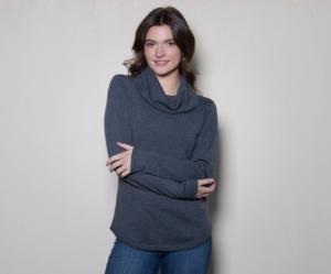 Merino Classic Cowl Sweater